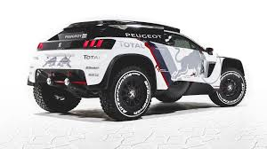 porsche dakar peugeot has made a new evil dakar car car news bbc topgear