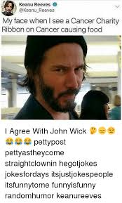 Cancer Face Meme - keanu reeves my face when i see a cancer charity ribbon on cancer