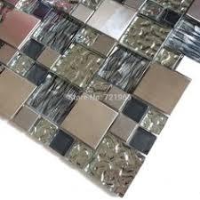 Glass Tiles For Kitchen Backsplashes Taupe Curved Mosaic Glass Tile 1 Sq Ft Kitchen Backsplash
