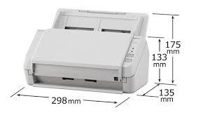 petit scanner de bureau fujitsu sp 1125 scanner recto verso a4 25 ppm avec chargeur