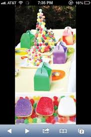 Candy Party Table Decorations 84 Best Christmas Party Table Decorations Images On Pinterest