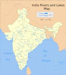 World Map Of India by List Of Major Rivers Of India Wikipedia