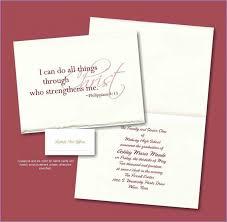 formal high school graduation announcements sle graduation invitation wording yourweek cea152eca25e