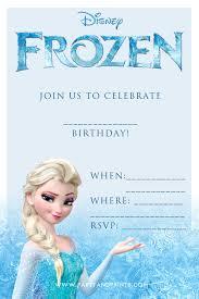 frozen birthday invitations stephenanuno com