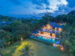 villa design photo gallery naam sawan 4 bedroom phuket beachfront villa in