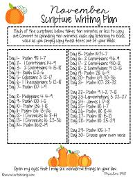 where in the bible does it talk about thanksgiving sweet blessings november scripture writing plan 2016