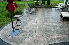 concrete patios designs hungphattea com adorable patio at ideas nz