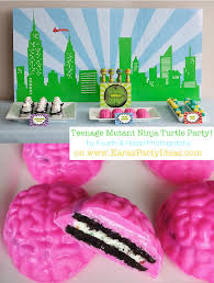 kara s party ideas teenage mutant ninja turtle birthday party teenage mutant ninja turtle party via kara s party ideas ninja turtle party