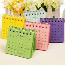 Small Desk Calendars Mini Multicolour Small Desk Calendar Pocket Size Small Calendar