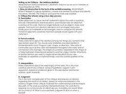 Resume Critique 26 Critique Essay Best Photos Of Sample Article Critiques Article