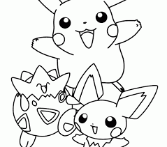 pokemon color pictures kids coloring europe travel guides