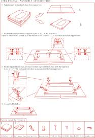 Assembly Instructions - Sofa bed assembly