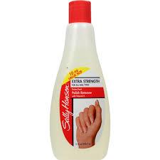 sally hansen extra strength nail polish remover 10 ounce bottle