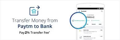 18 answers paytm charges 4 for transferring money to bank why