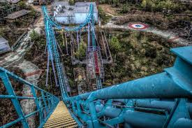Jazzland Six Flags Abandoned New Orleans Theme Park Reclaimed By Mother Nature After