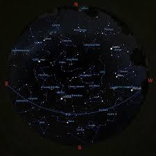 april night sky lyrid meteor leo