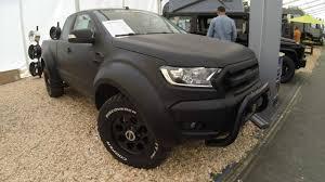 Ford Ranger Truck Models - ford ranger matte black pick up 4x4 new model 2017 tuning