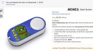 Button Meme - memes dash button give up internet
