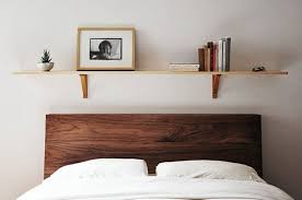 bedroom shelves versatile bedroom decor shelves above the bed apartment therapy
