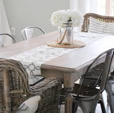 kitchen table refinish paint the world white by brynne