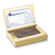 Cheap Holiday Cards For Business Business Card 1 Oz Creamy Chocolate Thank You Business Holiday