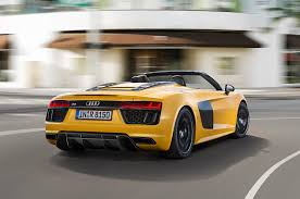 Audi R8 2016 - audi r8 spyder convertible shown at 2016 new york auto show