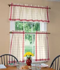 Really Curtains Windowpane Plaid Tier Curtains Want For My Kitchen I Really Need