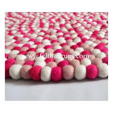 Round Pink Rug For Nursery Round Pink Rug Australia Round Pink Bath Rug Cute Pink Handmade