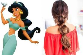 princess jasmine u0027aladdin u0027 disney princess inspired hairstyles