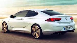 photoshop new 2017 opel insignia coupe new opel monza calibra
