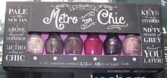 sephora by opi metro too chic nifty shades of grey nail polish set