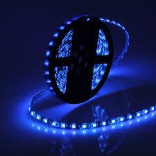 blue led strip lights 12v black fpcb led strip 5050 12v flexible light waterproof ip65 60led
