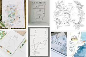 make your own wedding map blog willow visuals