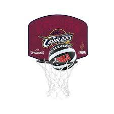 mini panier de basket pour chambre spalding mini panier de basket cleveland cavaliers nba noir