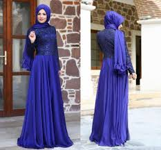 royal blue prom dresses with long sleeve lace floor length