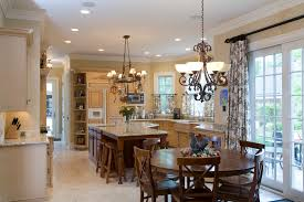Eat In Kitchen Table Farmhouse Pendant Lighting Kitchen Transitional With Eat In