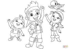 jack neverland pirates coloring pages malebog