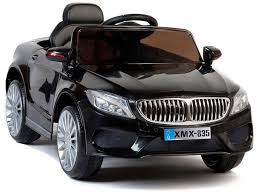 bmw car in black colour ride on cars 12v motorised ride in black bmw 535 style