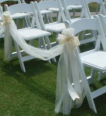 chair ribbons 20 inspring and affordable wedding chair decorations everafterguide