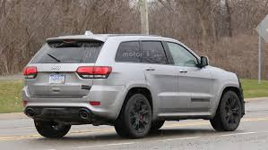 2018 jeep grand wagoneer spy photos 2018 jeep grand cherokee trackhawk spy photo motor1 com photos
