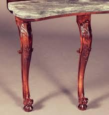 Antique Sofa Table Sofa Table With Antique Italianate Marble Top U2014 Jsg