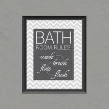 chevron bathroom ideas bathroom wall 5 best images of free bathroom printable wall