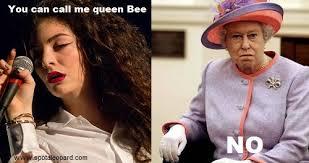 Queen Elizabeth Meme - queen elizabeth ii on lorde lorde s royals know your meme