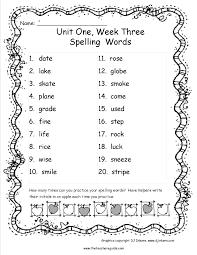 wonders third grade unit one week three printouts