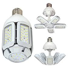 mogul base led light bulbs satco s9799 60w 2700k ex39 mogul extended base hi pro multi beam led
