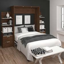 Bed Furniture With Drawers Wall Beds Costco