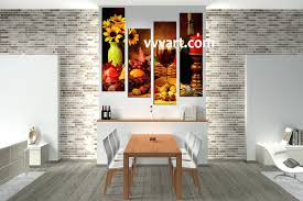 modern kitchen canvas art amazing dining room wall art colors on this metal print are