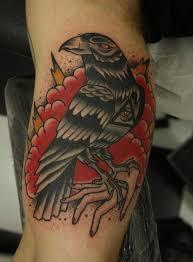 crow tattoo by bruno jardim tattoos mob
