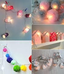 guirlande pour chambre bébé guirlande lumineuse chambre peinture chambre fille moderne la