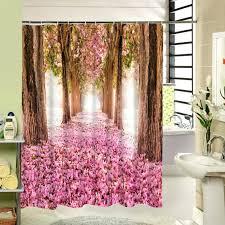 Purple Shower Curtain Sets - hummingbird shower curtain kohls bathroom inspirations shower
